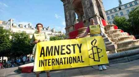 Amnesty, Amnesty International, Hong Kong protests, Hong Kong extradition bill, Hong Kong extradition bill protests, Hong Kong Police, Hong Kong protesters, World news, Indian Express