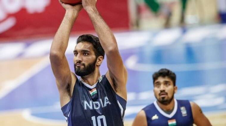 basketball, amritpal singh, india basketball, sports news, indian express