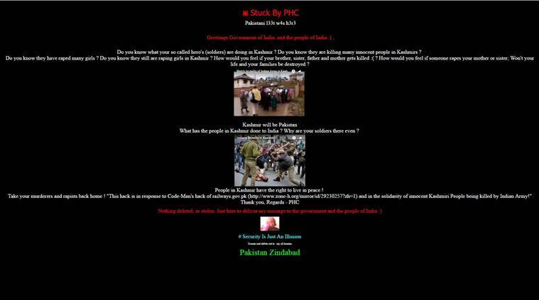 Websites of 2 IITs, AMU, DU hacked; pro-Pak slogans displayed