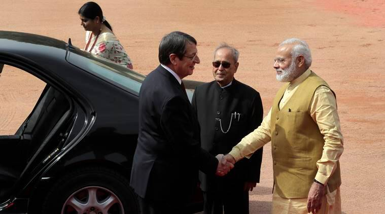 Cyprus, Nicos Anastasiades, Nicos Anastasiades, Nicos Anastasiades India visit, Cyprus India, EU, Afghanistan, taliban, European Union, latest news, indian express