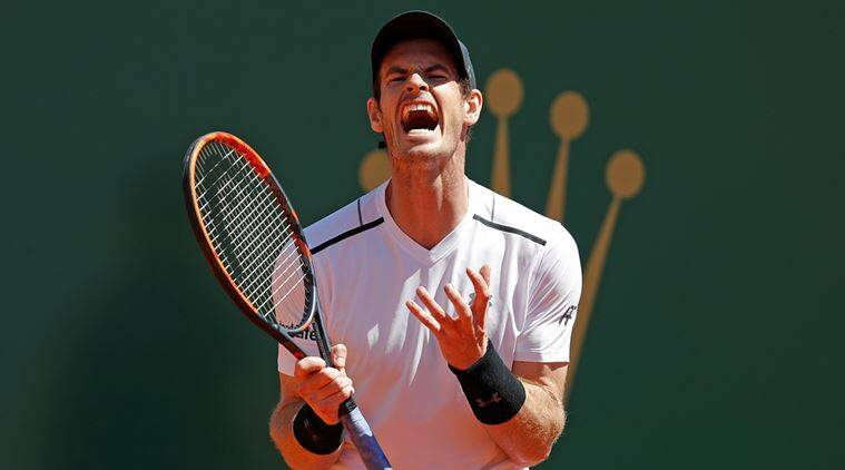 Andy Murray, Albert Ramos-Vinolas, Andy Murray Monte Carlo Masters, Monte Carlo Tennis, Tennis News, Sports News, Sports, Indian Express
