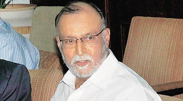 Delhi LG, Delhi Lt Governor Anil Baijal, Delhi stack parking, North Delhi Municipal Corporation, NDMC, Indian Express, Indian Express News