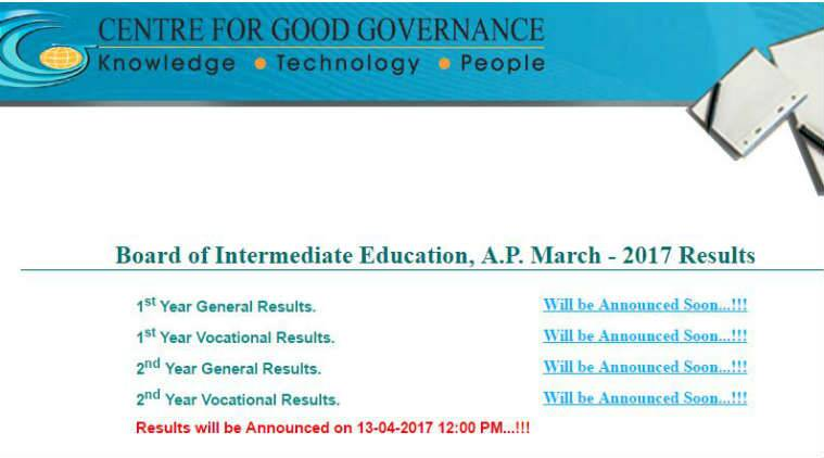 AP Inter results today, TS Inter results date announced