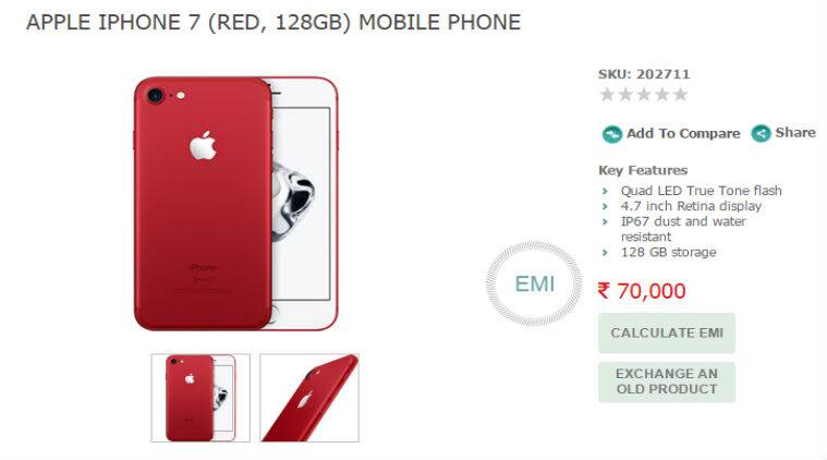 Apple's red iPhone 7 and iPhone 7 Plus to be available in