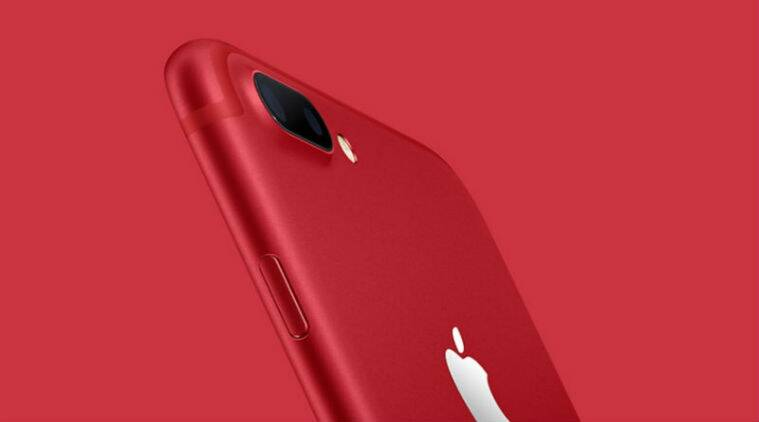 Apple Product Red IPhone 7 Special Edition
