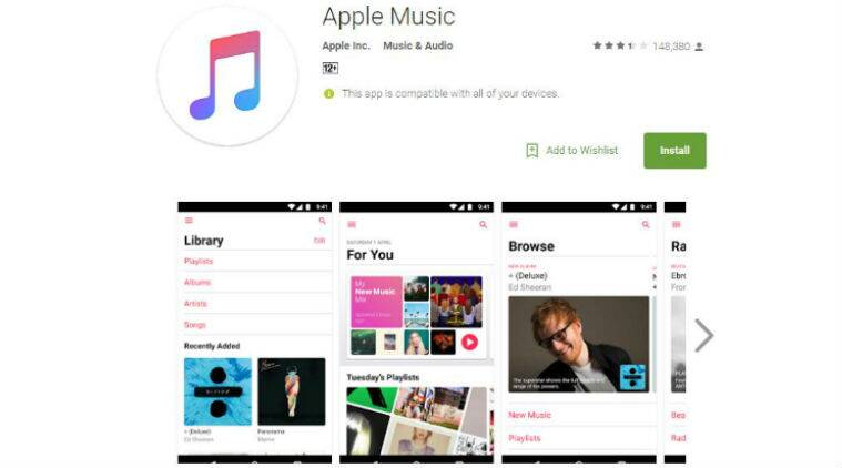 Apple, Apple Music, Apple Music Android, Apple Music app, Apple Music update, Apple Music Play Store, Apple Music redesign, Apple Music new features, Apple Music new design, Apple Music subscription, Apple Music Android how to download, Apple Music iOS, iOS 10, apps, smartphones, technology, technology news