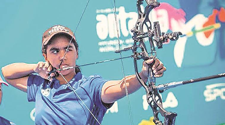 archery, pune archery, pune girl archery, archery news, sports news, pune news, latest news, indian express