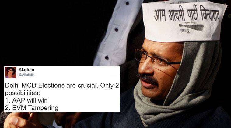 MCD Elections 2017 Result: Handed drubbing by BJP, AAP cries foul
