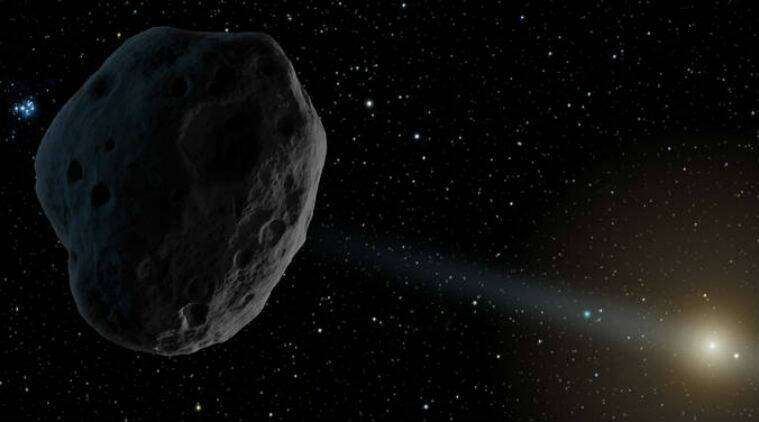 asteroid,  NASA's Jet Propulsion Laboratory,  2014-JO25, asteroid passing close to earth, space rock, NASA, science news, PanSTARRS, milky way galaxy, indian express news