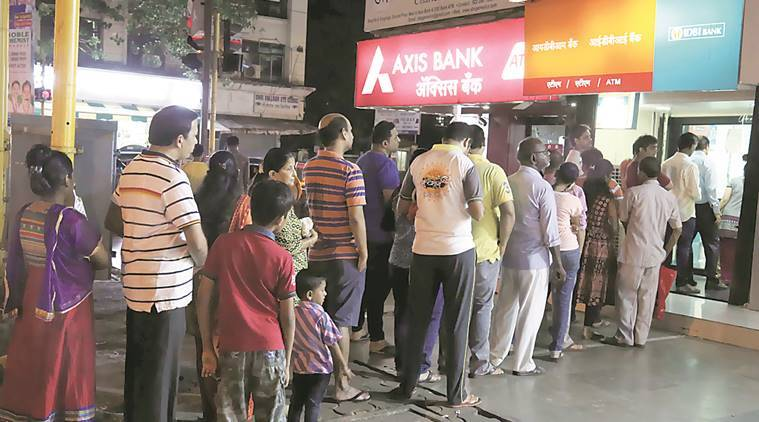 cash shortage, cash crunch, bank holidays, ATMs dry, no cash, Automated teller machines, india news, indian express news