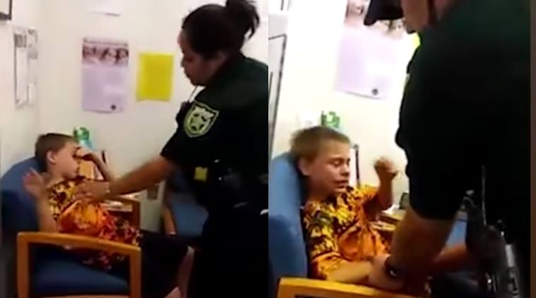 autistic child gets arrested, 10 year old autistic child arrested, 10 year old autistic boy arested, i dont like to be touched 10 year old autistic boy arrested, autism in children, autistic child arrested for kicking teacher,