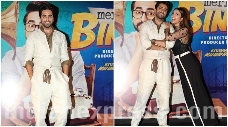 ayushmann khurrana, meri pyaari bindu, meri pyaari bindu song launch, parineeti chopra