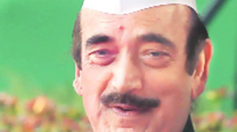 Ghulam Nabi Azad, Srinagar bypoll, Kulbhushan Jadhav, Srinagar election violence, Kashmir policy, PDP, PDP-BJP government, J&K bypoll violence, Leader of opposition Ghulam Nabi Azad, Ghulam Nabi Azad interview, India news, Indian Express