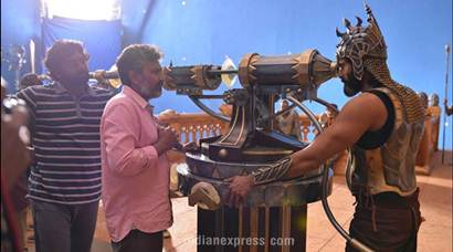 Baahubali 2: Never-seen-before pics from Baahubali The Conclusion sets reveal how SS Rajamouli epic came to life