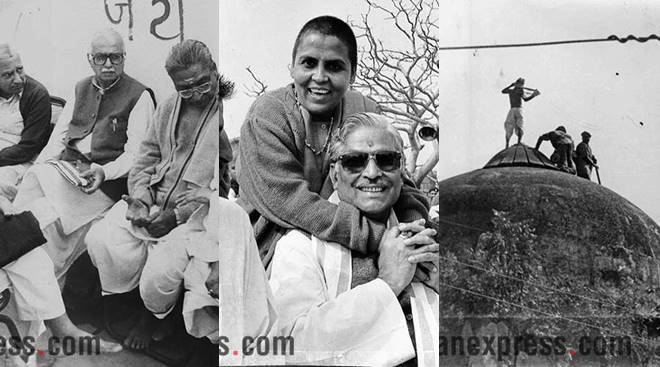 Babri Masjid demolition case: Express archive pictures on how it all happened