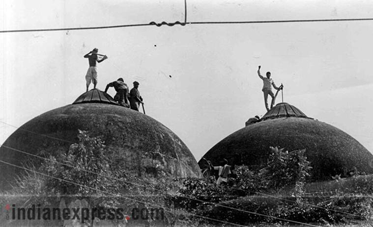 babri masjid case, l k advani, IPS officer witness against advani, indian express, india news