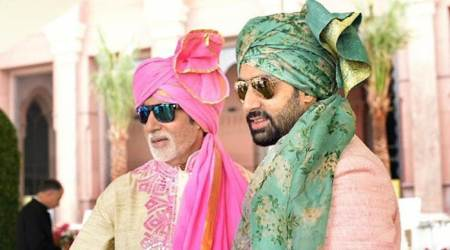 On Abhishek Bachchan's birthday, father Amitabh Bachchan gets emotional, recalls his childhood