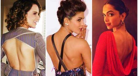 Go bold in backless: Take inspiration from Priyanka Chopra, Deepika Padukone, Kangana Ranaut and other Bollywood divas