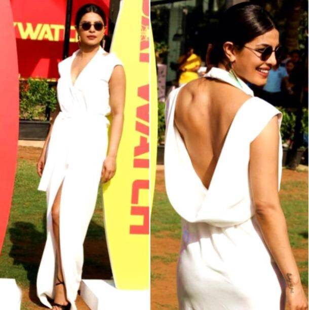 backless, backless dresses, backless fashion, backless outfit, backless designerwear, backless style statement, priyanka chopra, deepika padukone, sonam kapoor, kangana ranaut, disha patani, anushka sharma, taapsee pannu, shilpa shetty, kareena kapoor khan, summer trends, summer fashion, summer style, fashion, lifestyle, indian express, indian express news