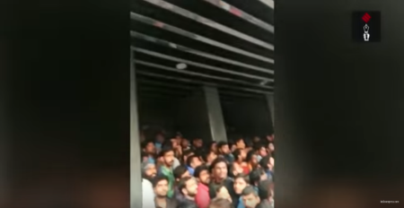 Cinefans Waiting To Watch Baahubali 2 At A Cinema In Kochi
