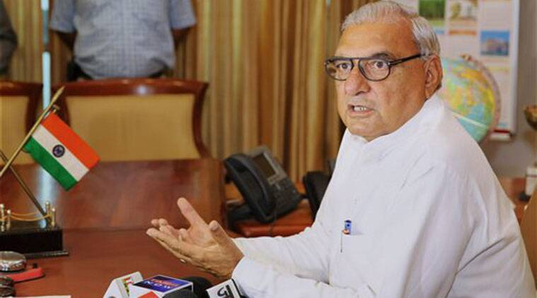 national herald case, bhupinder singh hooda, bhupinder hooda, hooda case, hooda ec, ec questions hooda, hooda vora questioned, india news, indian express, latest news
