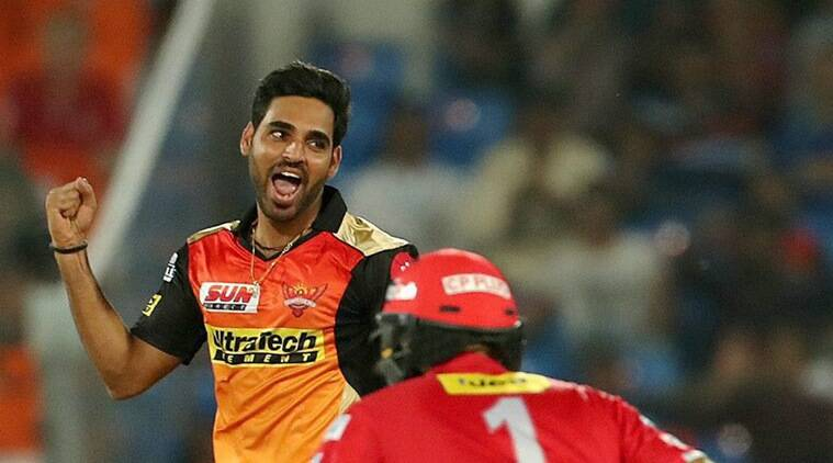 SRH vs KXIP: David Warner and I planned to bowl straight yorkers and it  worked, says Bhuvneshwar Kumar | Sports News,The Indian Express : Two Times Purple Cap Winner