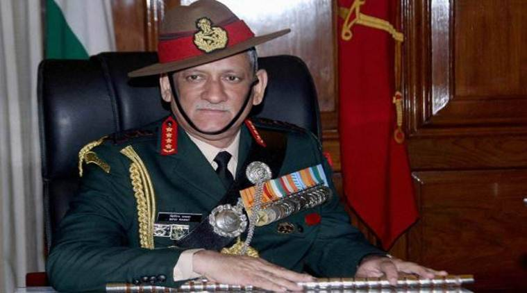 bipin rawat, army general bipin rawat, kashmir, stone pelters, major gogoi, kashmir protests, burhan wani, india news