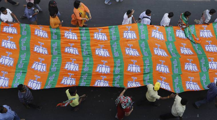 Haldia Municipal Polls, BJP Calls for central forces, BJP Haldia Municipal Polls, TMC and BJP attack, West Bengal News, Indian Express news