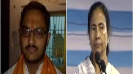 mamata banerjee, mamata banerjee bounty, Yogesh Varshney, BJP leader, yogesh varshney comment, mamata's head bounty, Zameer Ullah Khan, SP MLA, former SP MLA, india news, indian express news
