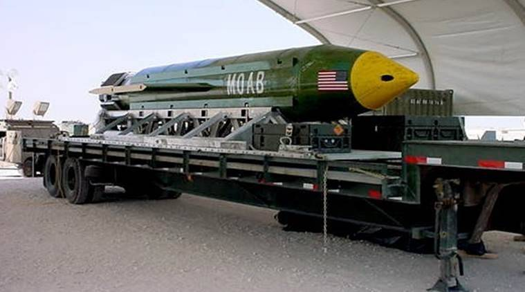 Mother of all Bombs, what is Mother of all Bombs, GBU-43, GBU-43 US, What is GBU-43, Afghanistan, US Afghanistan, US GBU, afghanistan, US afghanistan, US nuclear bomb, US drop bomb, IS, ISIS, islamic state, US Islamic state, latest news, latest world news