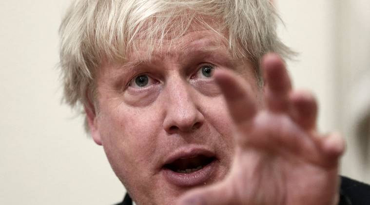 British Foreign Secretary cancels Moscow visit, Russia on Syria attack, British Foreign Secretary's Moscow visit, Boris Johnson, Boris Johnson  Moscow visit, indian express news