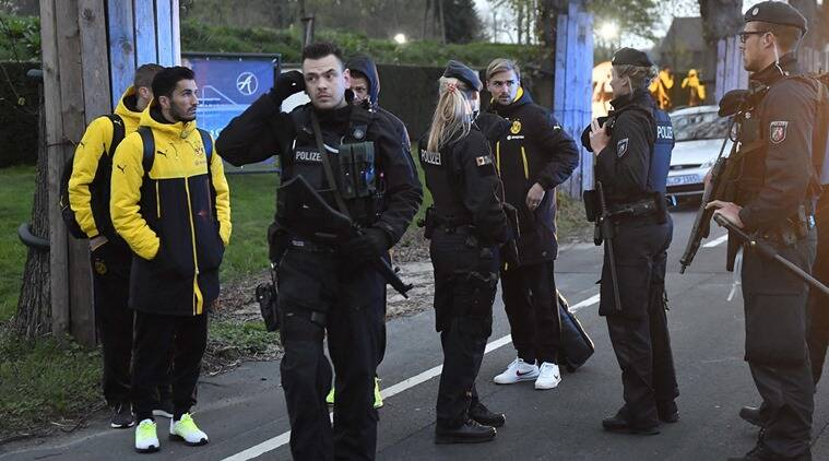 Borussia Dortmund bus blast: Man arrested over bombing of German football team bus