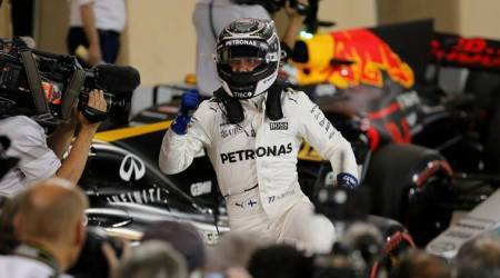 valtteri bottas, bottas, bahrain grand prix, bahrain gp, bahrain gp qualifying, bahrain f1 qualifying, f1, f1 news, formula 1, lewis hamilton, sebastian vettel, sports news, indian express