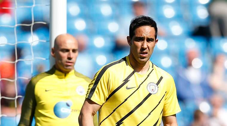 manchester city, city, city goalkeeper, claudio bravo, willy caballero, manchester city keeper, pep guardiola, guardiola, football news, sports news, indian express