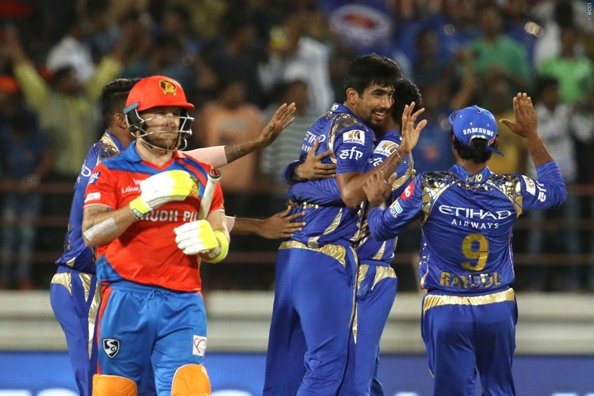 IPL 2017 GL vs MI: Jasprit Bumrah shines in Super Over, Mumbai Indians clinch thrilling win over Gujarat Lions | Sports News,The Indian Express