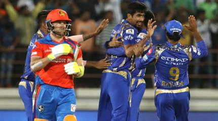 Bumrah shines in Super Over, MI clinch thrilling win