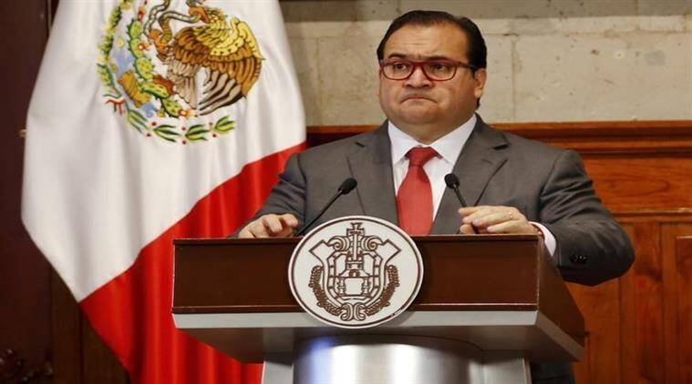 Fugitive Mexican politician wanted on organised crime charges held in Guatemala