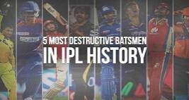 5 Most Destructive Batsmen In IPL History