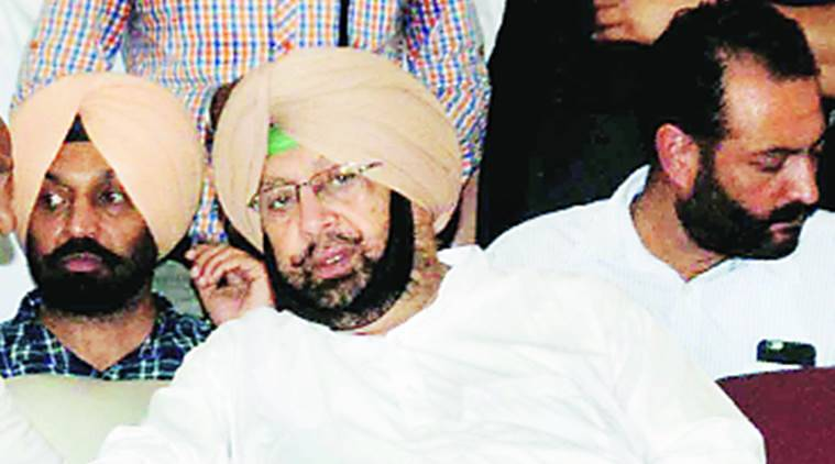 amarinder singh, pm modi, amarinder singh pm modi meet, punjab chief minister, india news, indian express