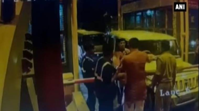 BJP MLA caught on camera beating up toll staff