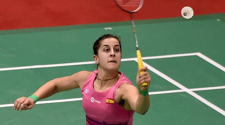 Carolina Marin, Carolina Marin matches, Carolina Marin news, Carolina Marin updates, Carolina Marin wins, Carolina Marin vs PV Sindhu, sports news, sports, badminton news, Badminton, Indian Express