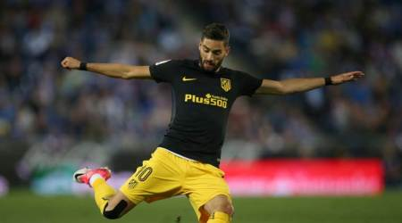 Yannick Carrasco, Carrasco, Atletico Madrid, Champions League semi-final, Champions League, Real Madrid, Madrid derby, injury, football stories, sports stories, Indian Express