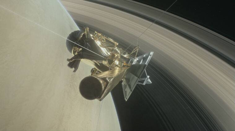 NASA Cassini spacecraft, Cassini Saturn historic dive, Grand Finale, Science data,Deep Space Network Goldstone Complex,Planetary Science Division, Science, Science news