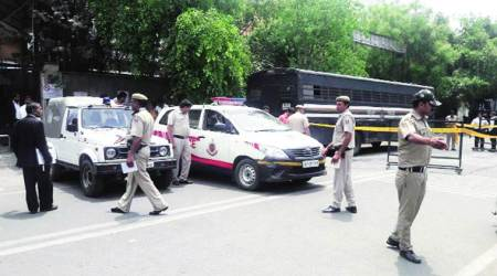Being escorted by police, undertrial shot dead outside Rohini court