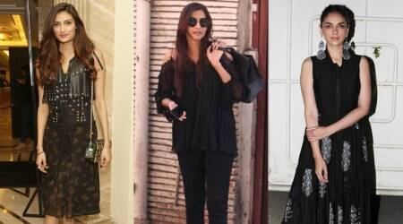 Sonam Kapoor, Athiya Shetty, Aditi Rao Hydari show us how to wear black in summers