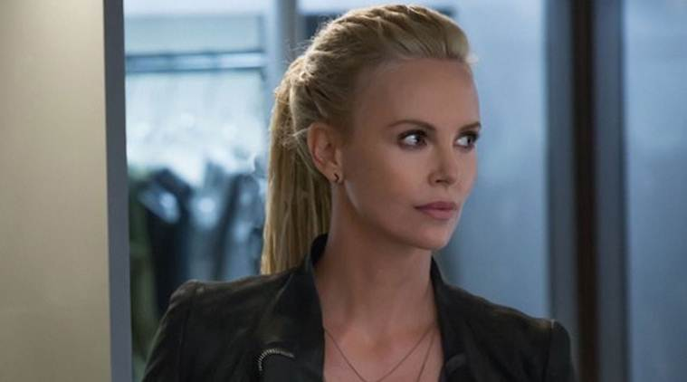 charlize theron honoured to play villain in fate of the furious the indian express. Black Bedroom Furniture Sets. Home Design Ideas