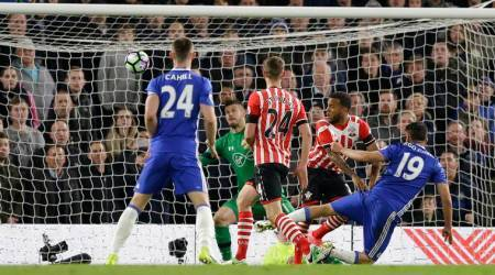 chelsea, diego costa, costa, chelsea v southampton, southampton, eden hazard, chelsea matches, chelsea win, chelsea news, premier league news, football news, latest news, indian express sports