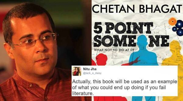 chetan bhagat book in du, chetan bhagat five point someone in du, chetan bhagat five point someone in DU, chetan bhagat J K rowling in du, chetan bhagat j k rowling DU twitter, chetan bhagat book in DU twitter reactions, chetan bhagat DU english literature syllabus twitter reactions, indian express, indian express news, indian express trending
