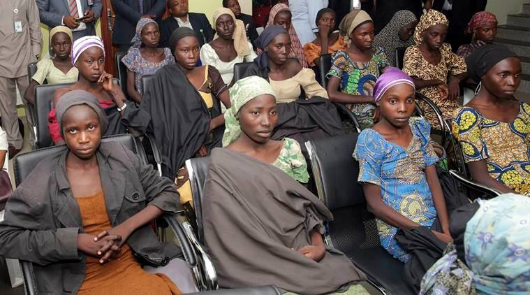 Nigeria, Chibok girls, Chibok schoolgirls, President Muhammadu Buhari, Boko Haram, World News, Latest World News, Indian Express, Indian Express News