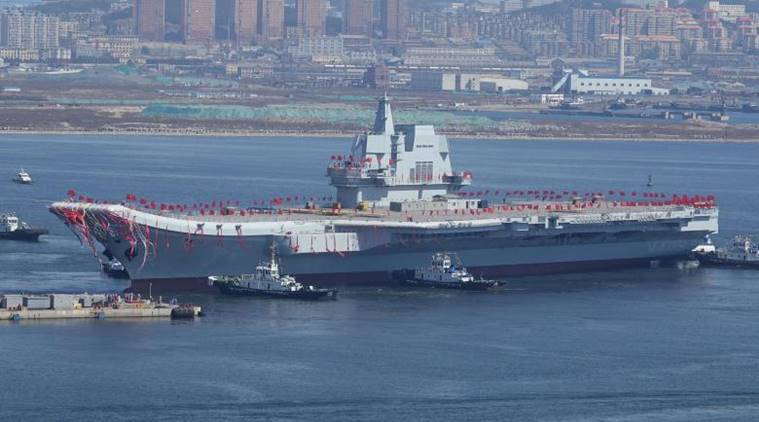 China, China aircraft carrier, China carrier, China indigenous carrier, China ship, China South China Sea, China new aircraft carrier, World news